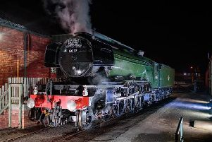 Flying Scotsman. Pic: Jody Hartley
