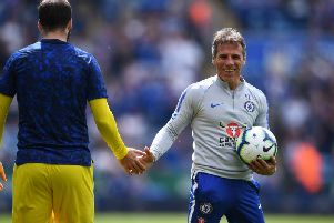 Gianfranco Zola is the bookies favourite to be Sheffield Wednesday's next manager.