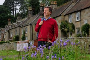 Julian Brown the National Park's interpretation manager, outside  the new visitor experience. (Simon Hulme).
