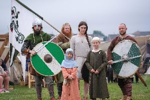 Heysham Viking Festival. The Ormsheim Vikings.