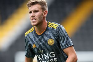 Leicester City's Callum Elder: One of four new arrivals to land at Hull City on deadline day.
