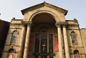 The Central Methodist Church in Lune Street, Preston where the charity has its roots.