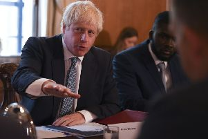 Prime Minister Boris Johnson  Photo credit should read: Daniel Leal-Olivas/PA Wire