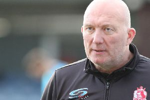 Billy Heath was pleased with his players despite the narrow defeat.