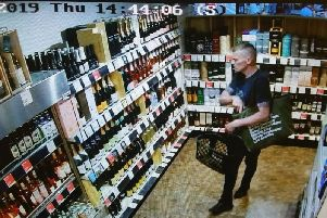 Police want to speak to this man following a theft from the Booths store in Scotforth Road, Lancaster on Thursday, July 25