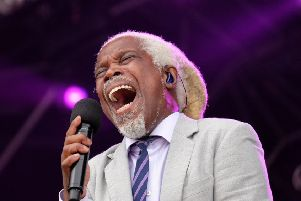 Billy Ocean. Picture by Jane Coltman