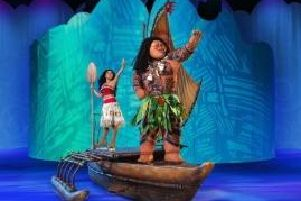 Moana will be making her debut in Disney on Ice at Sheffield Arena in November