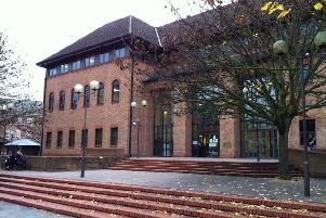 Pictured is Derby Crown Court.
