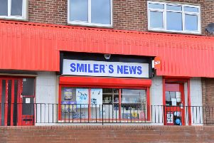 The robbery happened at Smiler's News