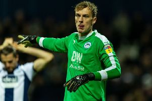 Wigan loan keeper Christian Walton is said to be a target of Derby County. (Photo by Paul Harding/Getty Images)