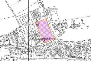 The site takes up a block of land hemmed in on all sides at Langthorpe.