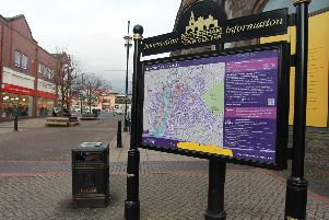 Rotherham town centre.