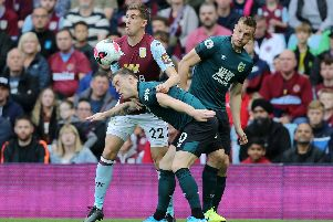 Ashley Barnes in action