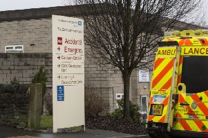 More than 10,000 A&E patients at the Calderdale and Huddersfield Trust face more than four-hour wait