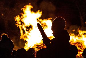 Elland Bonfire is one of the biggest in West Yorkshire.