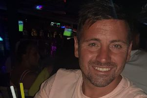 Blackpool dad David 'Kenny' Cram is fighting for his life in Blackpool Vic after what he thought was a cold turned into sepsis. Credit: Lee Cram