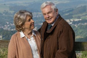 Anne Reid and Derek Jacobi. Picture: Lookout Point/Matt Squire