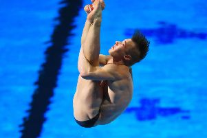 Jack Laugher struck gold once again