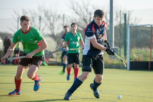 Action from Lytham Men's draw with Urmston