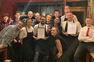 The Winterburn in Warley was given the award for 'Best Pub Food'