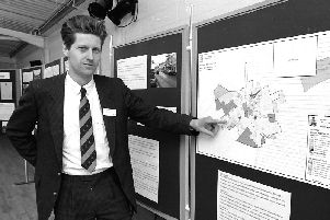 Pointing the way forward in 1994.