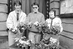 Image of yesteryear, from 1989, if you can remember it or if you recognise any of those pictured, please get in touch and let us know.