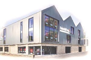 Increased business: Russell Dean's new store in Mytholmroyd.