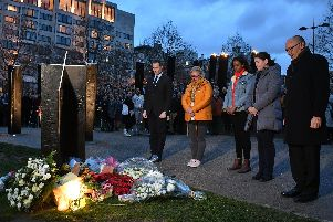 A vigil in New Zealand for the 49 people shot dead during attacks at two mosques in Christchurch (pic: Dominic Lipinski/PA Wire)