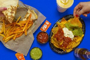 Taco Bell's Mexican style food