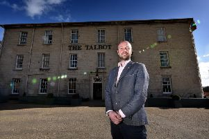 Manager of the Talbot hotel, David MacDonald
