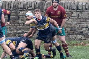 First time around: Crocs Joe Stott against Heath in December
