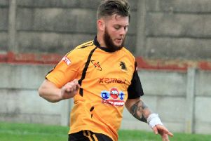 Former Ossett Albion player Ben Grech-Brooksbank scored Shelf Unitedf's equaliser