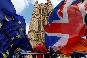 Which party will Harrogate voters swing towards in Yorkshire and Humber in the European Parliament elections.