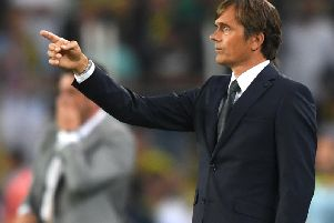 Phillip Cocu will oversee his first game on UK soil this weekend.