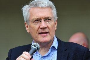 """When I hear of our area going downhill I dont agree"""" - Harrogate and Knaresborough MP Andrew Jones."""