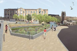 Will the Piece Gardens be re-designed or scrapped all together