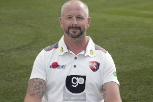 All-rounder Darren Stevens, who is still going strong at the age of 43. (PHOTO BY: Henry Browne/Getty Images)