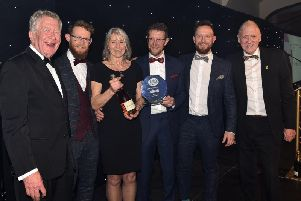 Furbellow & Co pick up their award last year