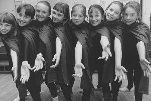 Pictured in 1993 are the St Martins School Dancers who took part in the school musical Rex Boudicca.