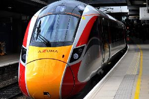 Train boost - LNER are running special AZUMA services between Leeds and Harrogate during the UCI World Championships,