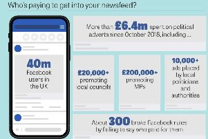 Who's paying to get into your newsfeed?