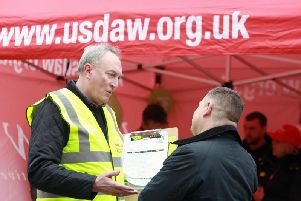 Shopworkers trade union Usdaw will be speaking to shoppers in Wakefield tomorrow as part of a 'Save our Shops' campaign.