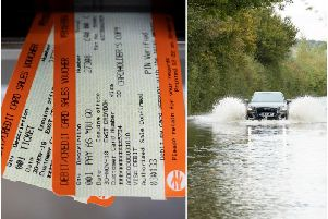 Trains passing through Wakefield may face disruption this afternoon after heavy rain led to the flooding of a railway tunnel.