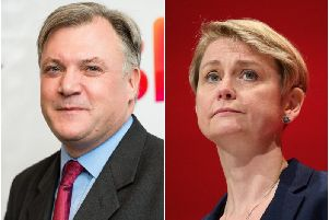 "Yvette Cooper MP is ""scared"" in the current political climate, her husband, former Shadow Home Secretary Ed Balls has said."