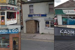 These are all the takeaways in the Wakefield district that have been awarded a hygiene rating of two or lower in their most recent inspection.
