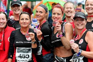 Runners of all abilities met in Pontefract town centre on Sunday morning to run the towns third annual half marathon.