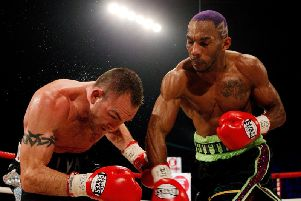 Former WBC world champion Junior Witter. PIC: Scott Heavey/Getty Images.