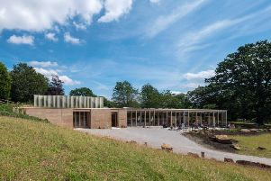 The Weston at Yorkshire Sculpture Park has been nominated for the 2019 RIBA Stirling Prize. Photo: Jonty Wilde