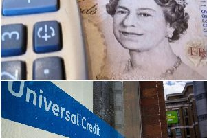 Universal Credit was rolled out, replacing six benefits, at the end of last year.