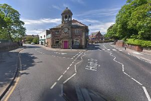 Heavy traffic has been reported in Horbury this afternoon, after a crash on the high street. Photo: Google Maps